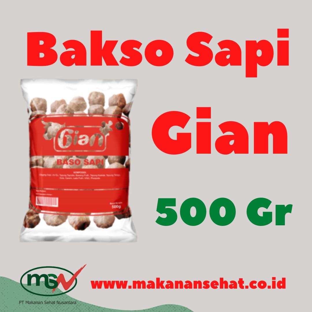Bakso Sapi Gian
