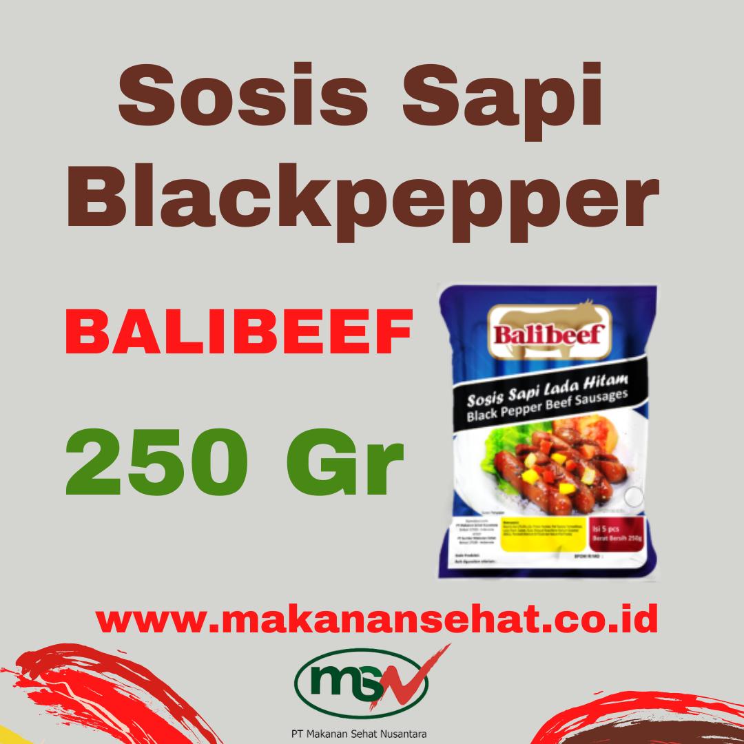 Sosis Sapi Blackpepper Balibeef